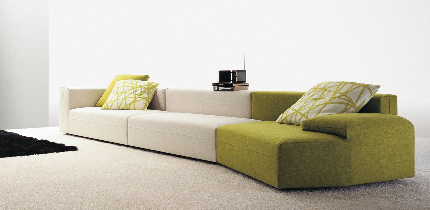 Freestyle sofa by molteni c hub furniture lighting living for Molteni furniture
