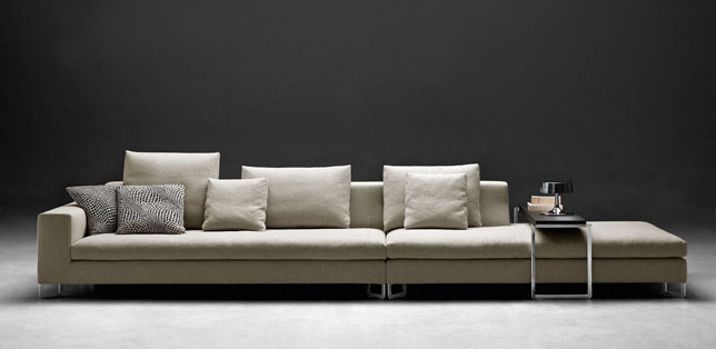 large sofa by molteni c hub furniture lighting living. Black Bedroom Furniture Sets. Home Design Ideas