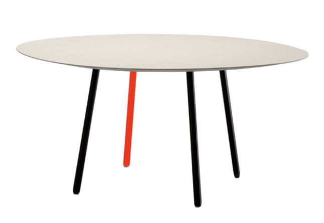 Maarten table by viccarbe hub furniture lighting living - Resource furniture espana ...
