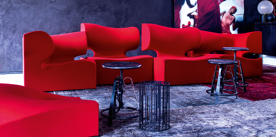 Moroso|Misfits Sofa|by Ron Arad