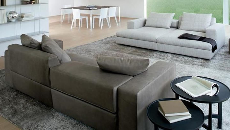 Turner sofa by molteni c hub furniture lighting living for Molteni furniture