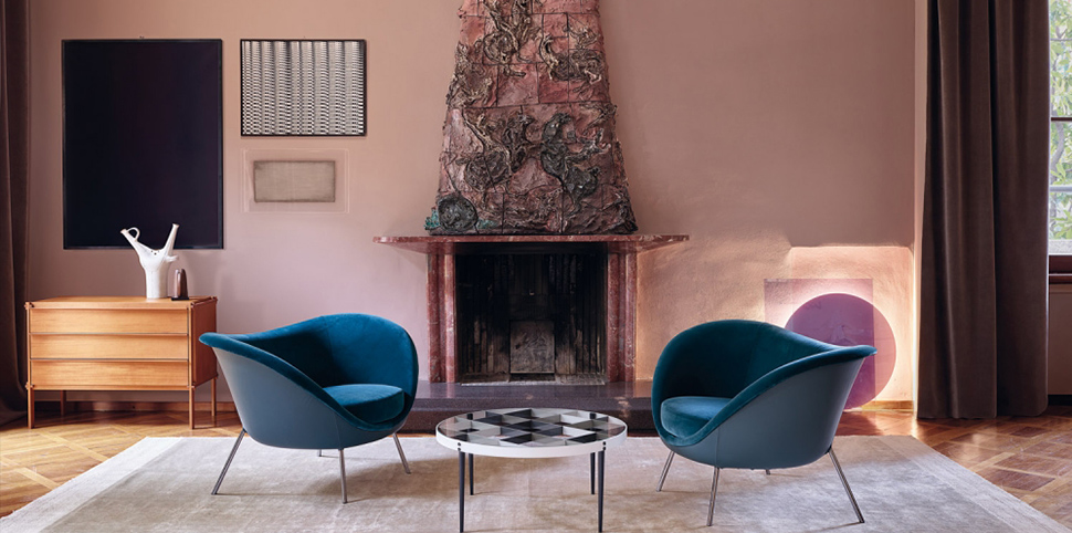 Molteni & C|D.154.2 Armchair|by Gio Ponti