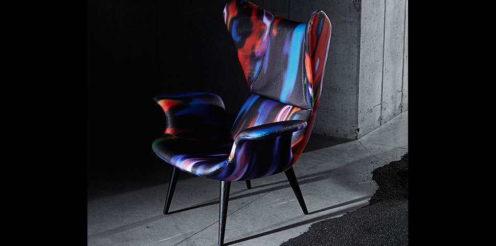 Diesel by Moroso|Longwave Armchair|by Diesel Design Team|
